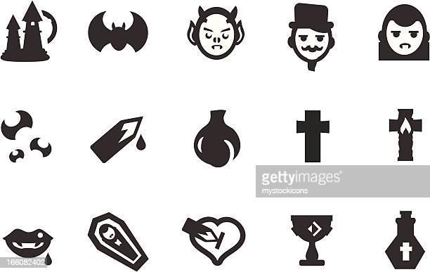 Vampire Icon Set