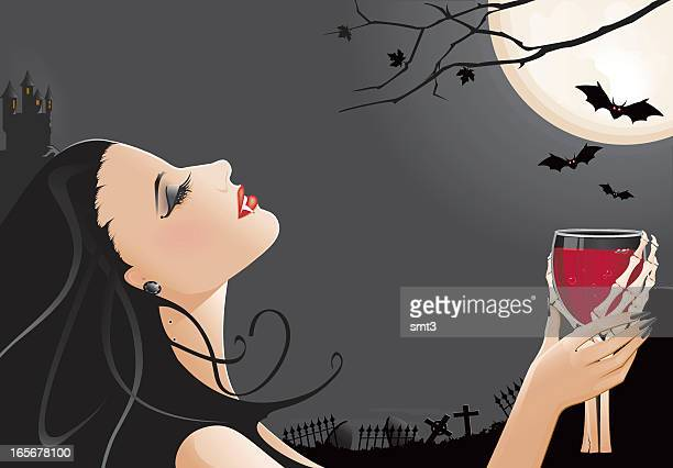 ilustraciones, imágenes clip art, dibujos animados e iconos de stock de vampiro - vampiro