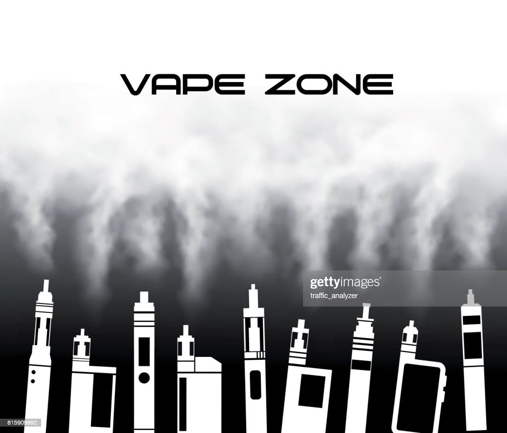 Vaporizers : stock illustration
