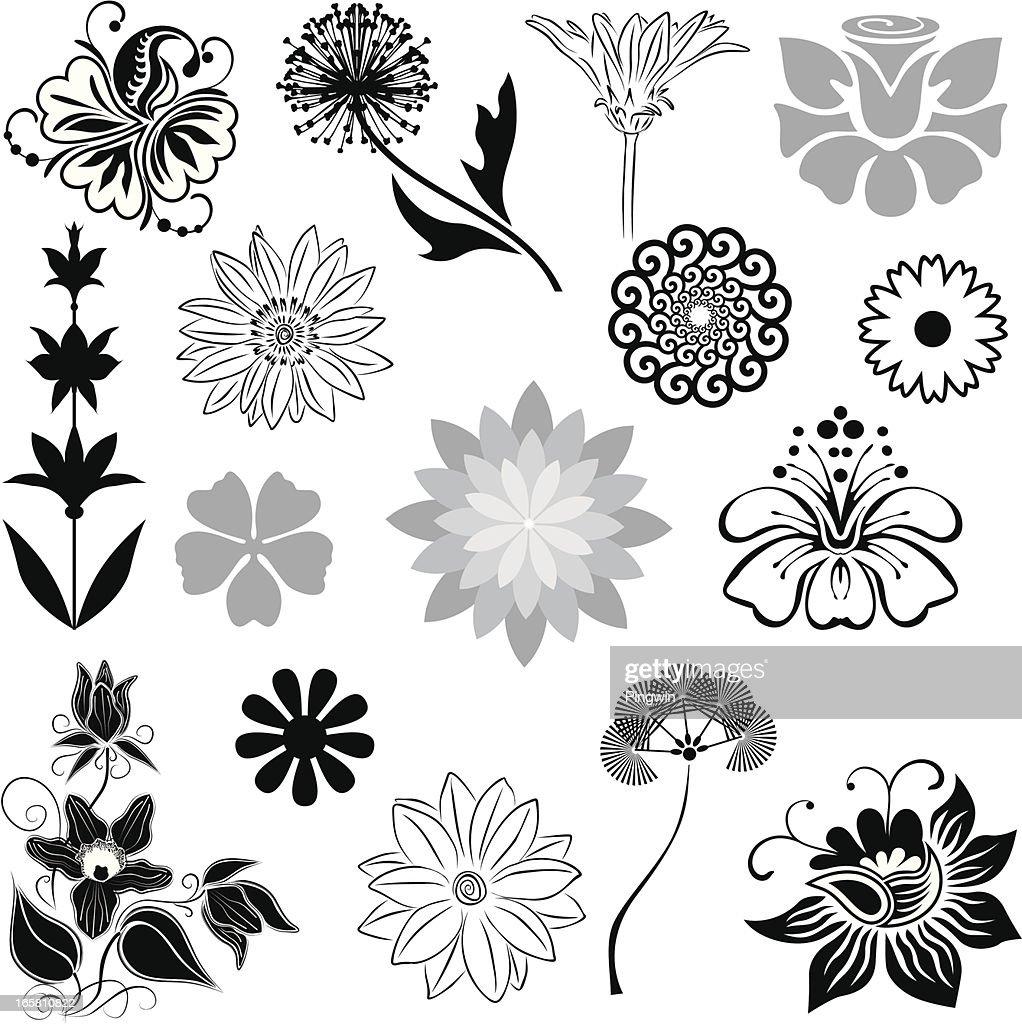 Variable flowers