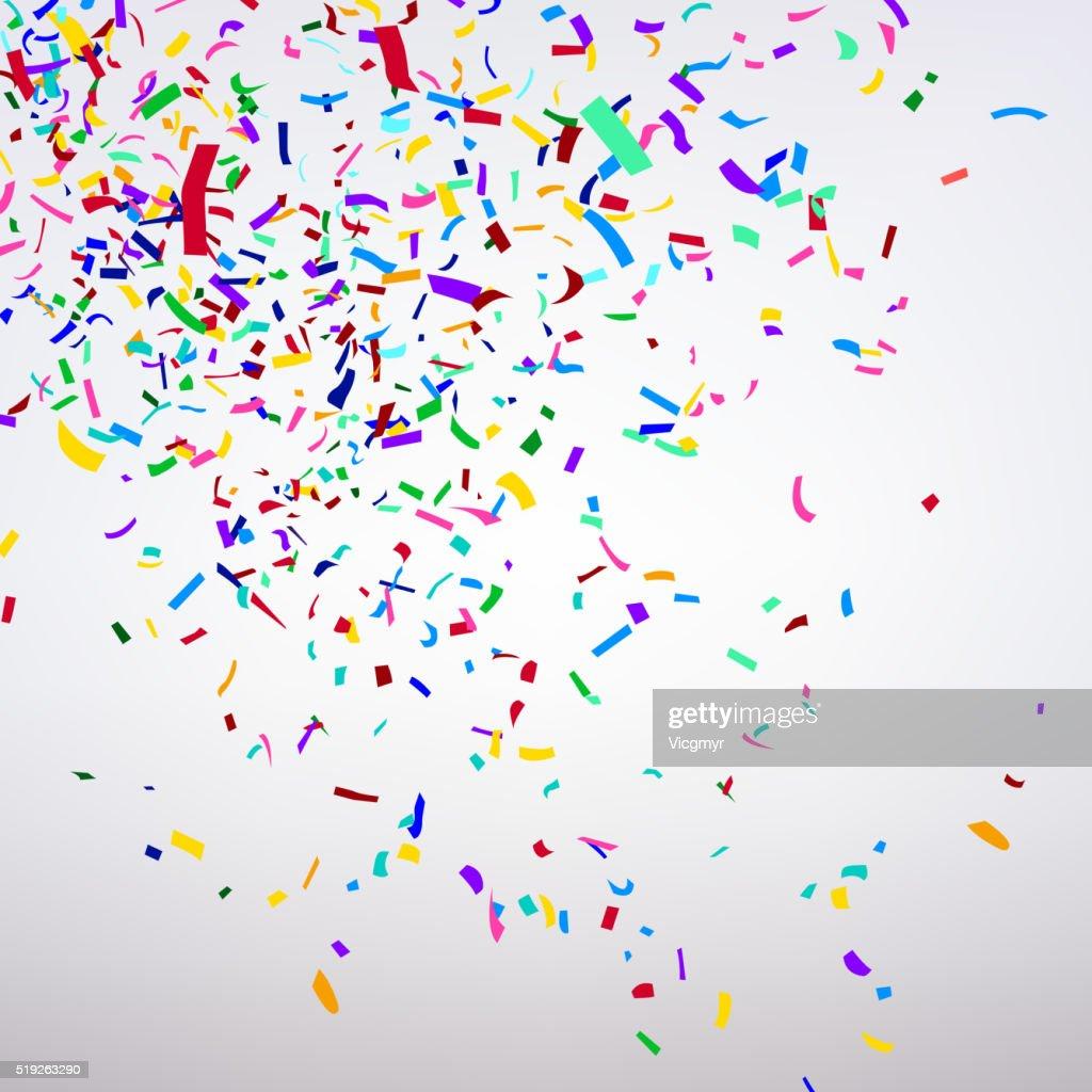 Varicolored Confetti