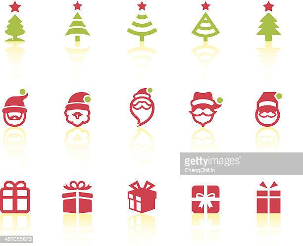 Variety Of Christmas Icons | Simple Series
