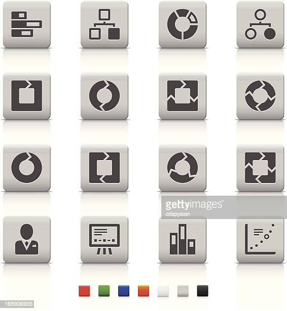 Various business related icons