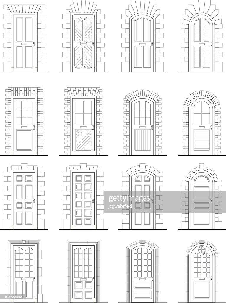 Various Doors & Surrounds