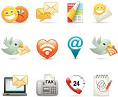 Various email and message icons