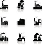 Various factory icons
