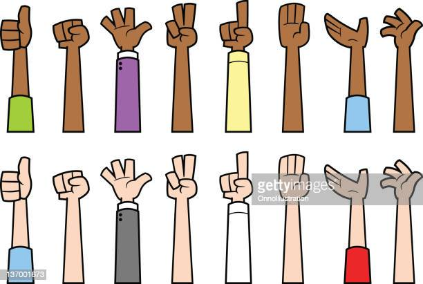 various hands - forearm stock illustrations, clip art, cartoons, & icons