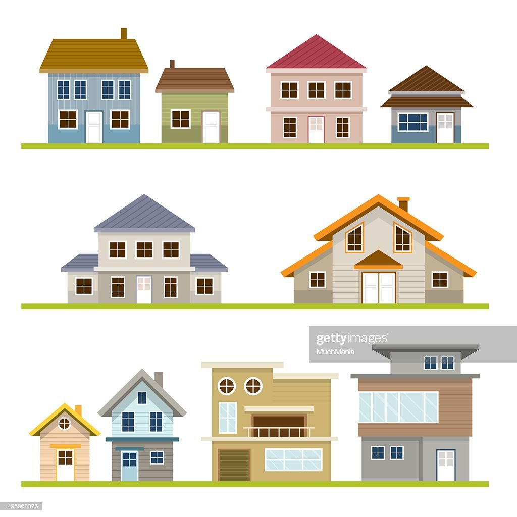 Various Houses Style Set