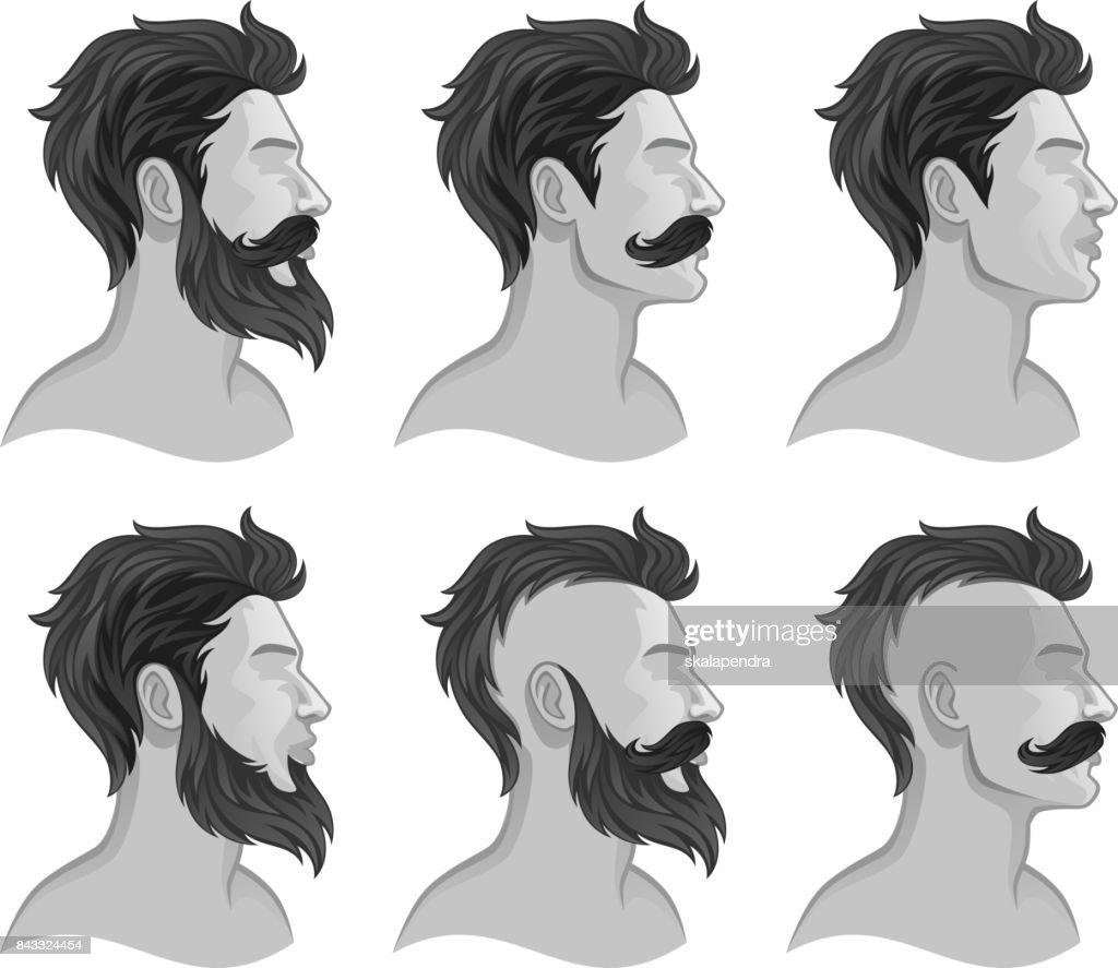Various men styles
