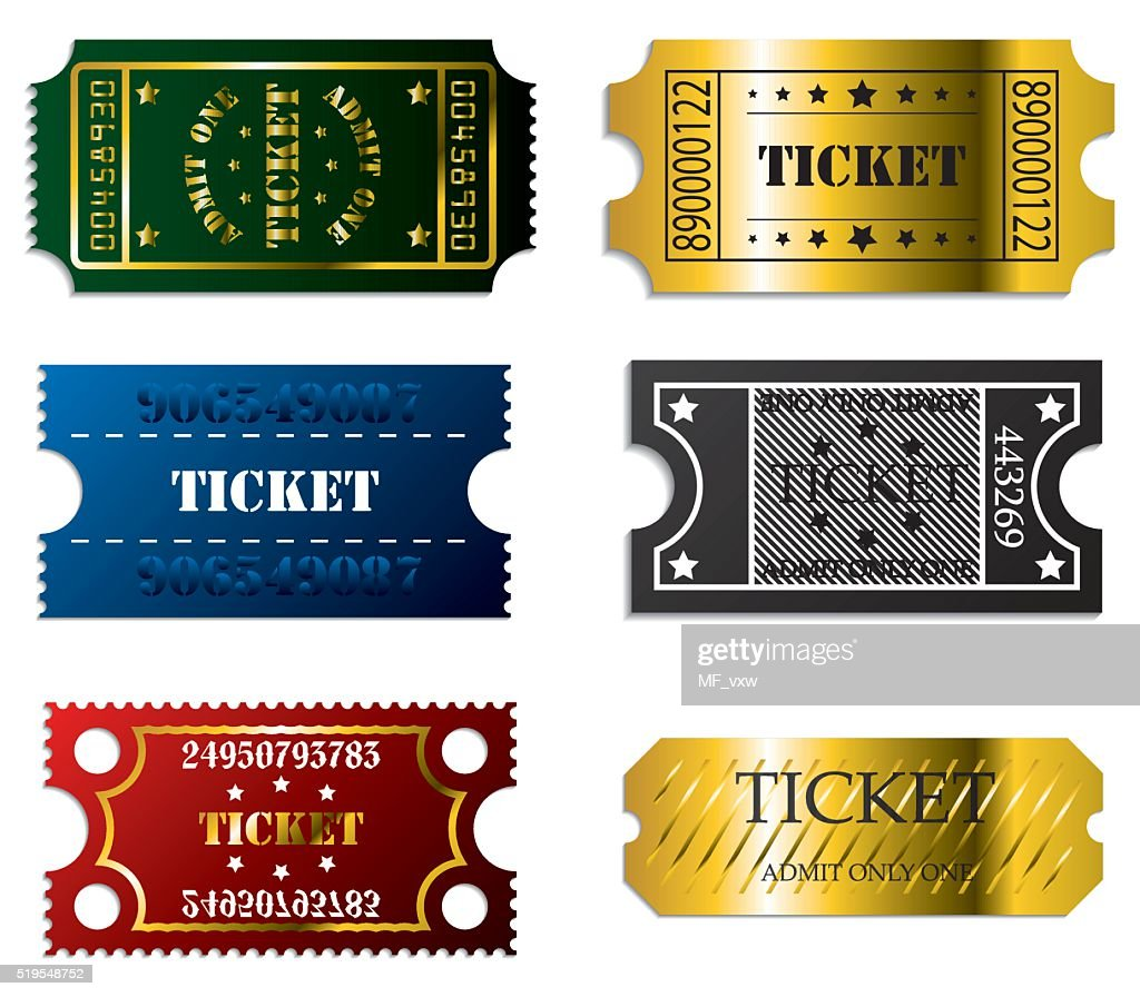 Various tickets