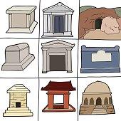 Various Tombs