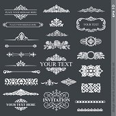 Various types of design elements