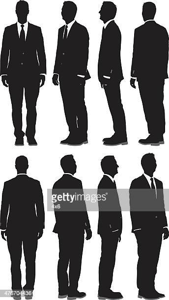Various views of businessman