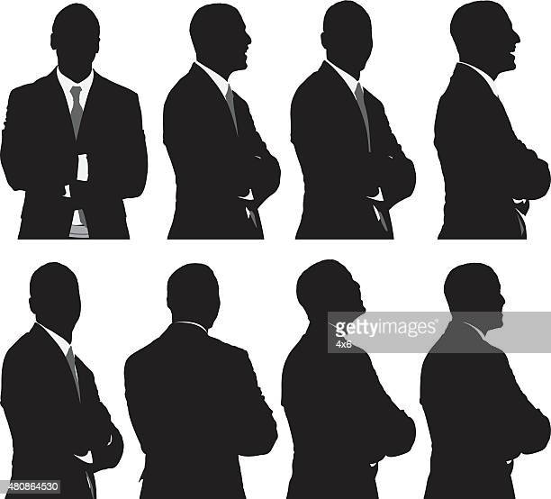 Various views of businessman