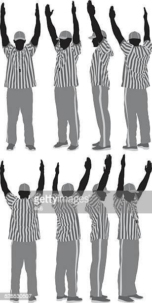 Various views of referee