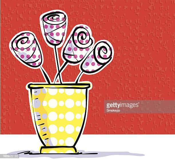Vase pink