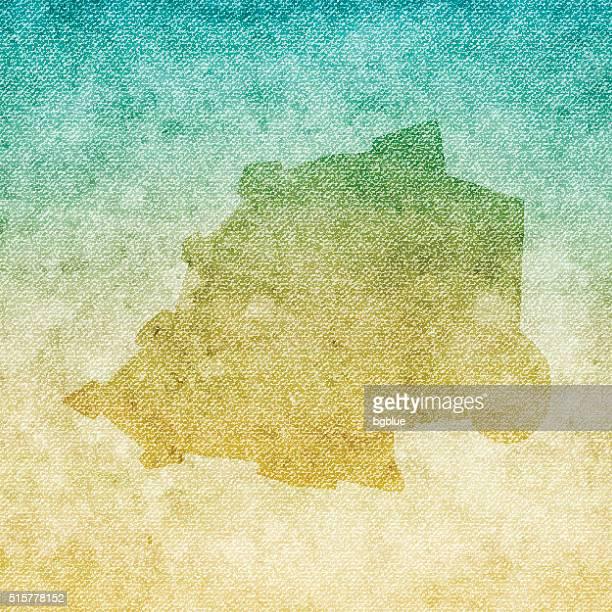 バチカン市国(ローマ法王庁)マップのグランジ背景のキャンバス - 荒い麻布点のイラスト素材/クリップアート素材/マンガ素材/アイコン素材