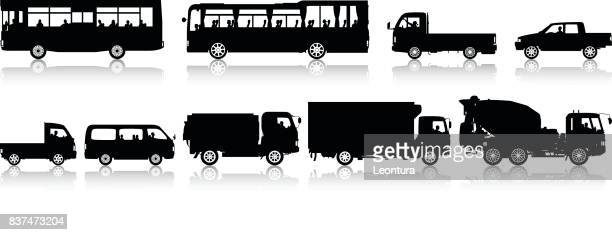 illustrations, cliparts, dessins animés et icônes de véhicules récréatifs - chauffeur routier