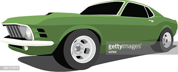 Vector 1970 Ford Mustang