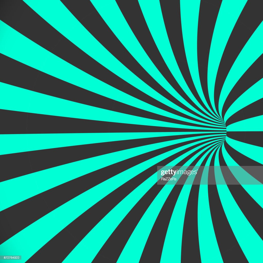 Vector 3d Tunnel Background Spiral Hole Illusion Template Vector Art ...