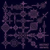Vector absatract elements set