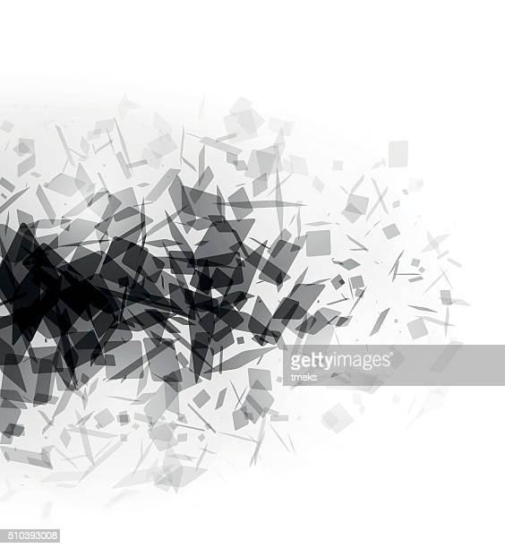 Vector abstract  background - explosion