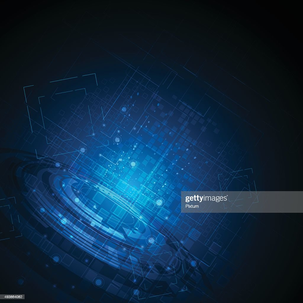 vector abstract background hi tech concept dynamic and movement design