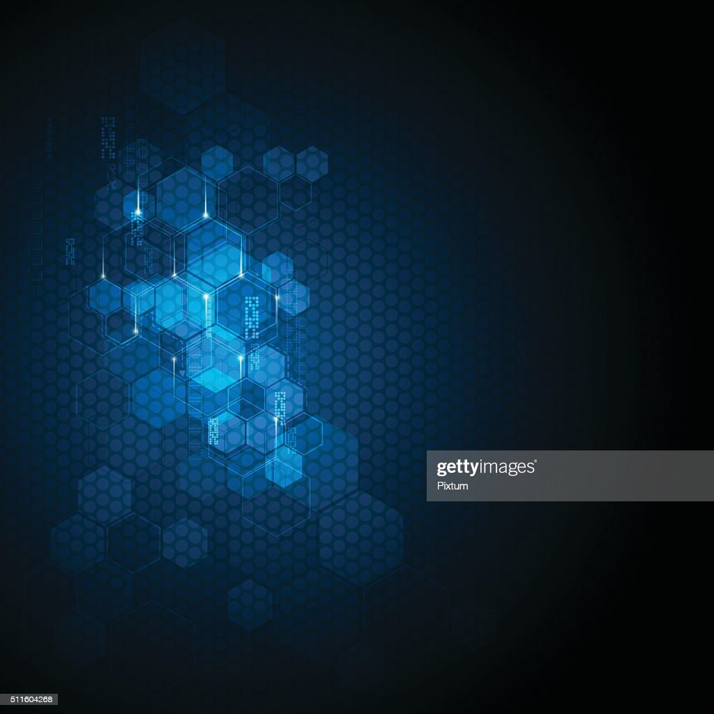 vector abstract background technology innovation concept sci fi design