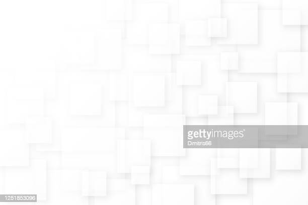 3d vector abstract background with space for text - square stock illustrations