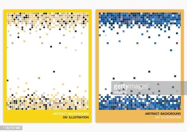 vektor abstrakte hintergründe - mosaik stock-grafiken, -clipart, -cartoons und -symbole