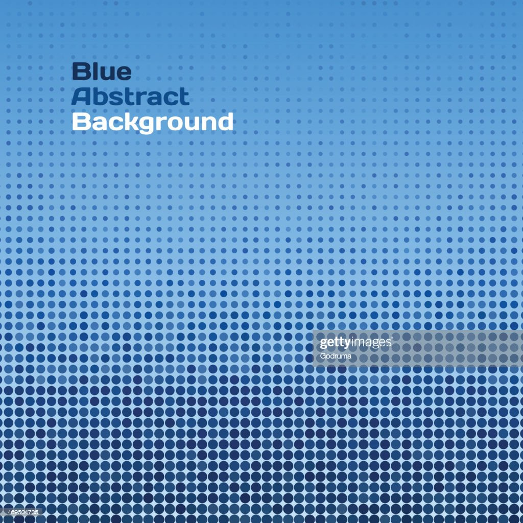 Vector abstract blue raster background