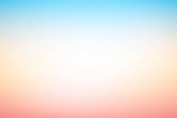 vector abstract blurry pastel colored soft gradient background - pastel stock illustrations
