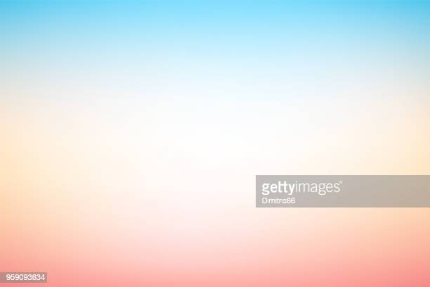 vector abstract blurry pastel colored soft gradient background - colour gradient stock illustrations