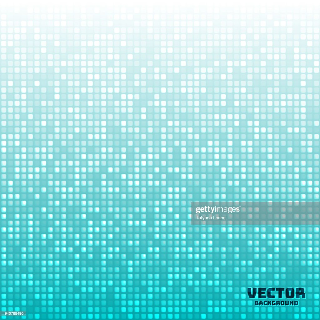 Vector abstract bright mosaic gradient background light blue
