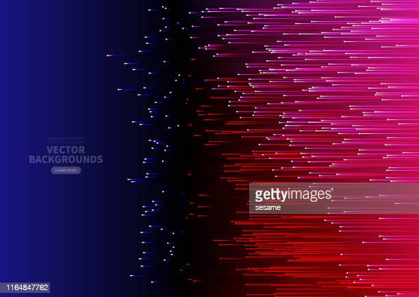 vector abstract gradient tech light background - laser stock illustrations