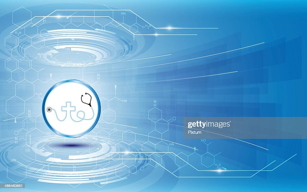 vector abstract medical health care concept innovation movement design background