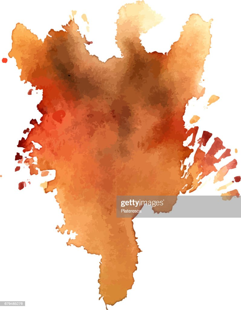 Vector abstract rusty watercolor background texture