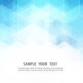 Vector Abstract science Background. Hexagon geometric design