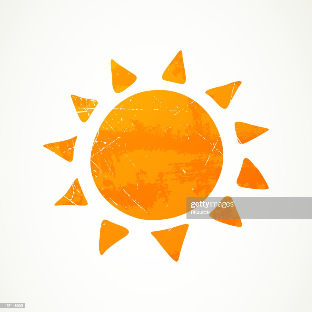 Vector Abstract Summer Sun