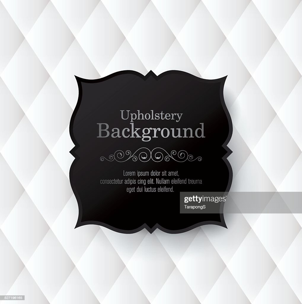 Vector abstract upholstery background.