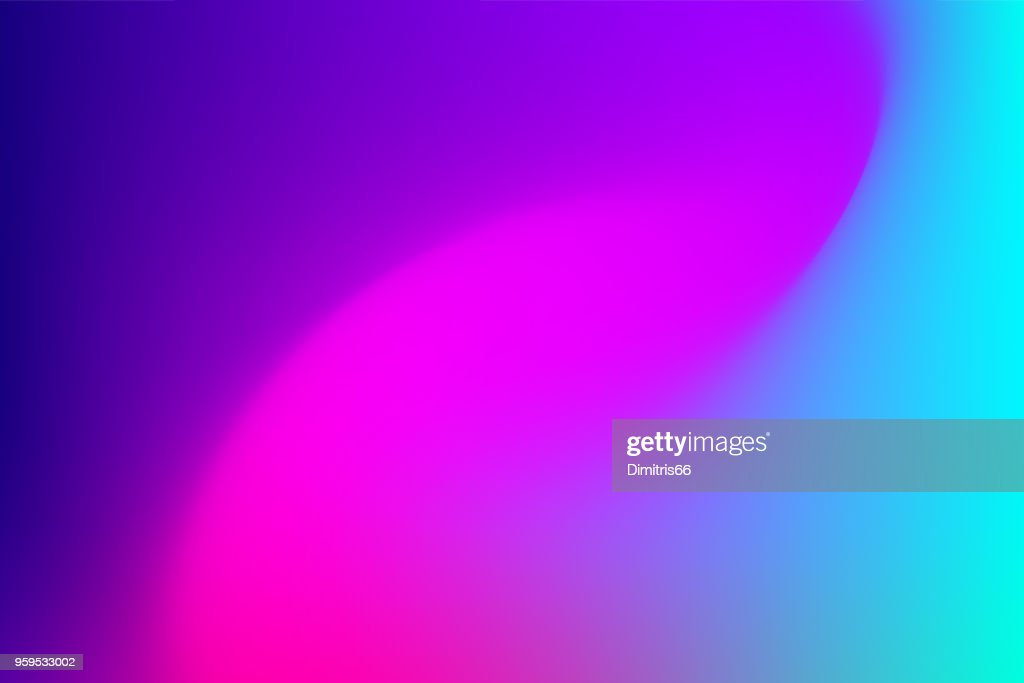 Vector abstract vibrant mesh background: Fuchsia to blue. : Stock Illustration