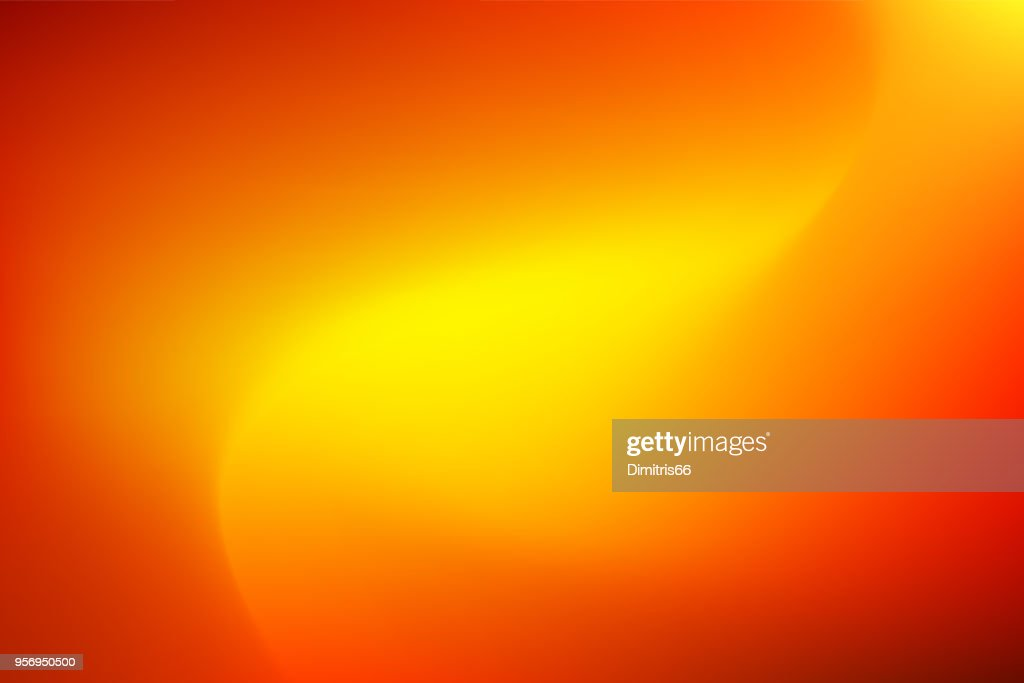 Vector abstract vibrant mesh background: Red to yellow. : stock illustration
