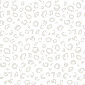 Vector animal leopard skin texture print seamless pattern