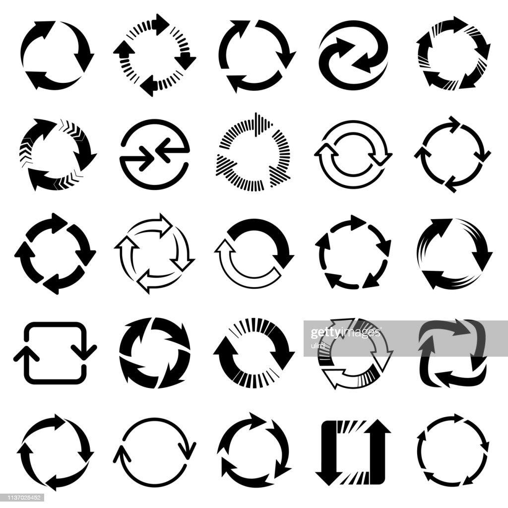 ベクトル矢印、円形のデザイン要素 : ストックイラストレーション