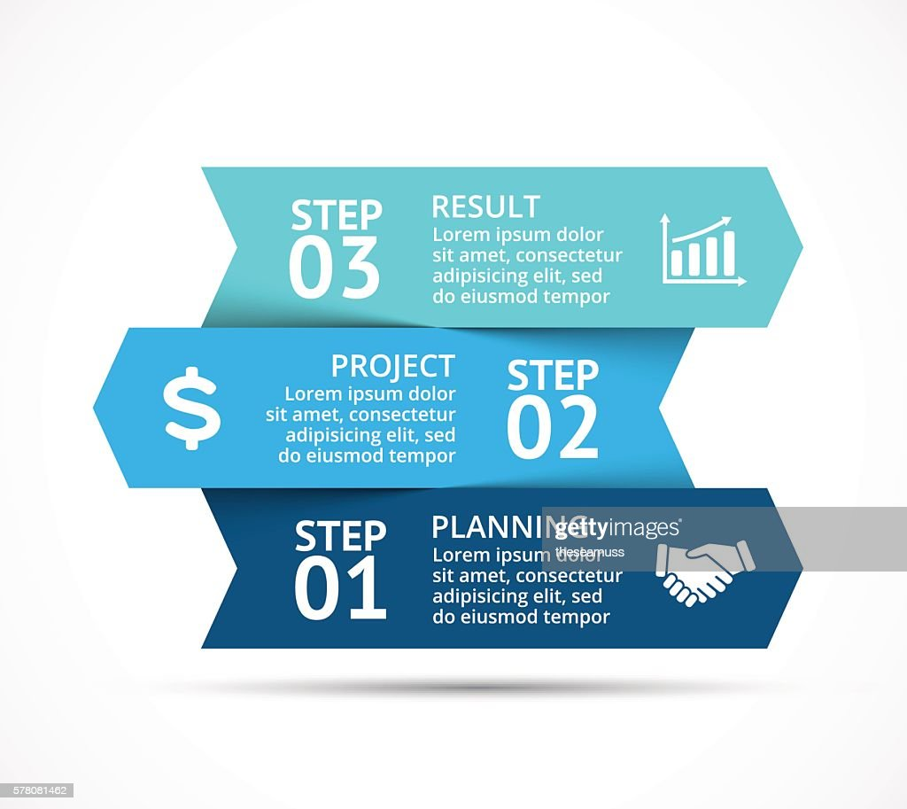 Vector arrows infographic, diagram chart, graph presentation. Business concept with