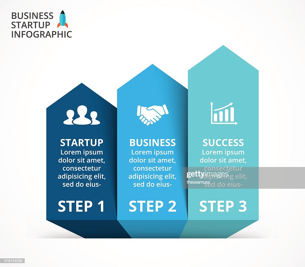 Vector arrows infographic, diagram, graph, presentation, chart. Business concept with