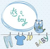 vector Baby Frame