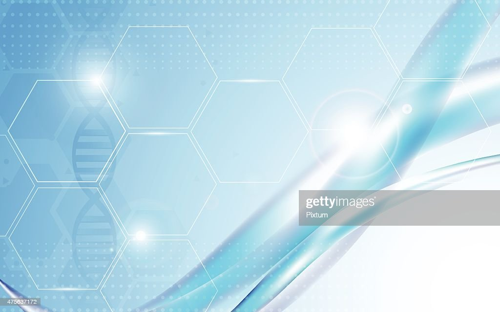 vector background abstract science and health care concept