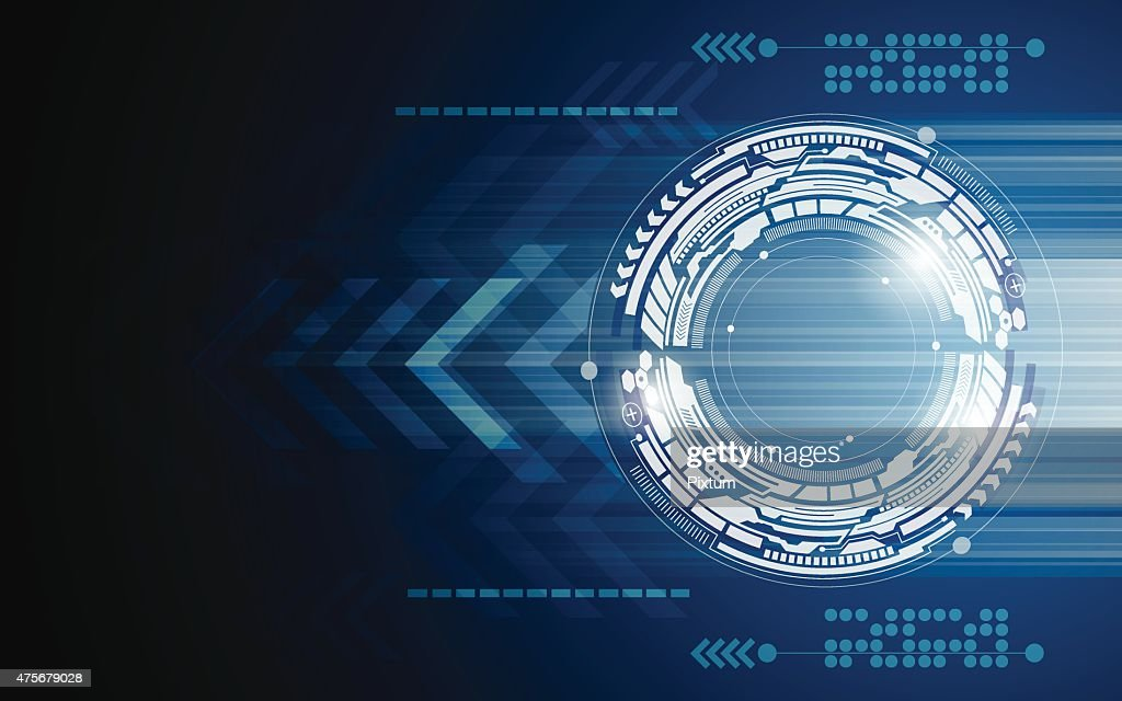 vector background abstract technology innovation movement concept