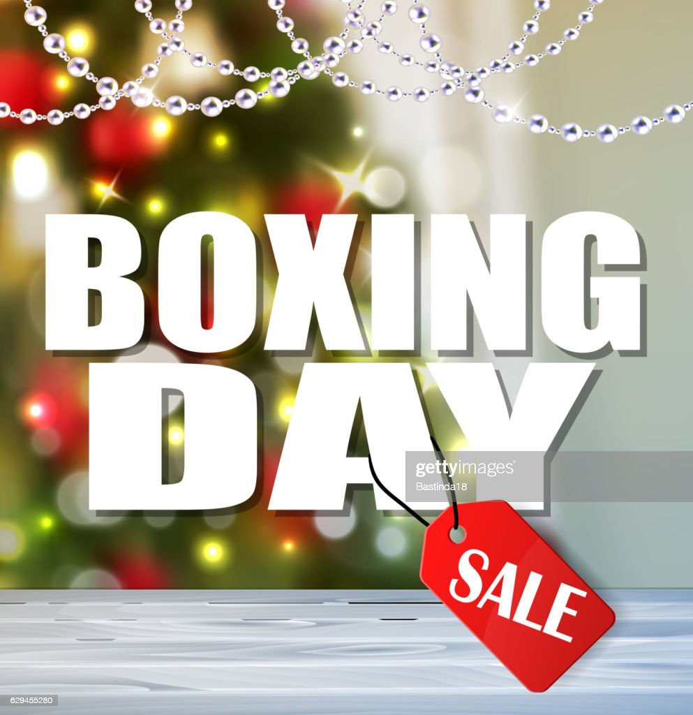 Vector Background for Boxing day